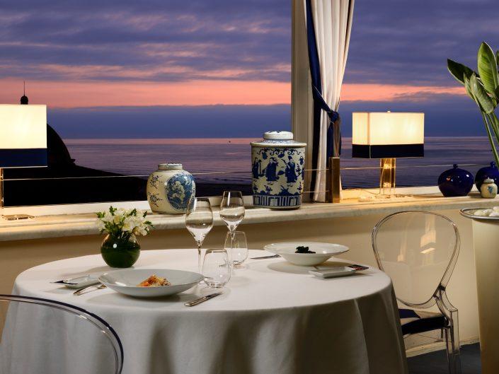cena romantica ristorante stellato Toscana